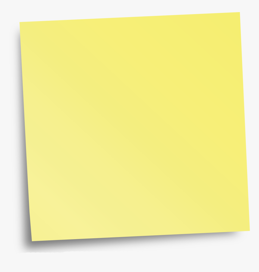 Sticky Notes Png Transparent, Png Download, Free Download