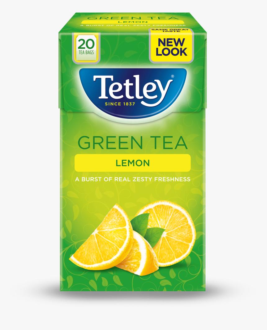 Green Tea Lemon 20s - Green And Lemon Tea, HD Png Download, Free Download