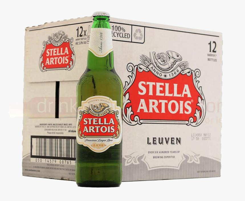 Stella Artois 12 X 330 Ml - Stella Artois Premium Label, HD Png Download, Free Download