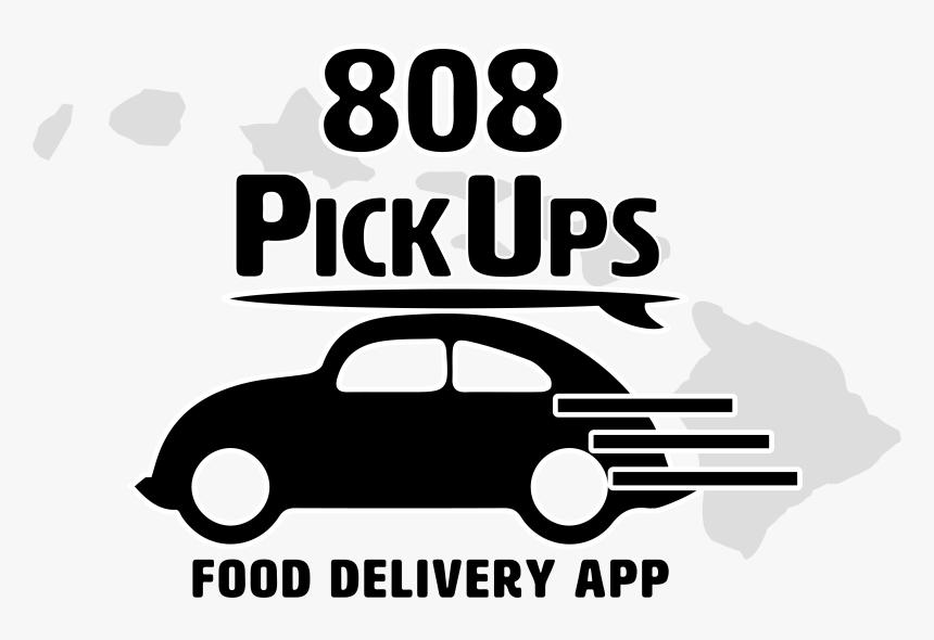 808 Pickups Logo Food Delivery App Logo - Food Delivery Png, Transparent Png, Free Download