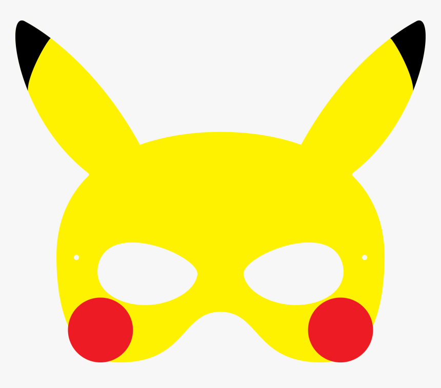 Pikachu Maske, HD Png Download, Free Download