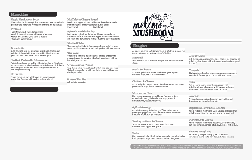 Mellow Mushroom Menu Athens Ga, HD Png Download, Free Download