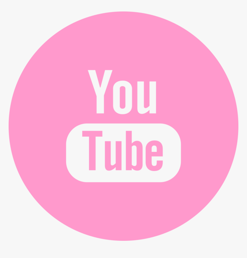 Png Youtube Rosa - Logo Do Youtube Rosa Png, Transparent Png, Free Download