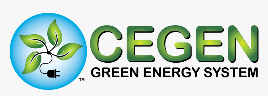 Cegen Green Energy System - Graphic Design, HD Png Download, Free Download