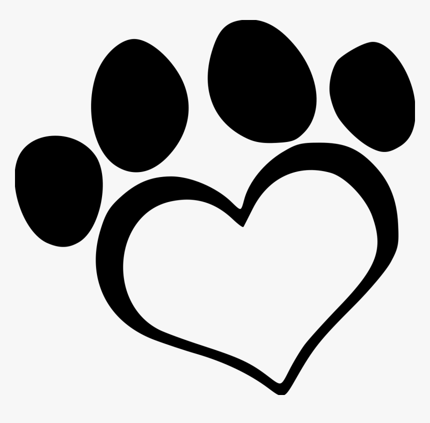 Dog Paw Print Heart Transparent Cartoons Heart Paw Print Clipart Hd Png Download Kindpng Similar with paw print png. dog paw print heart transparent