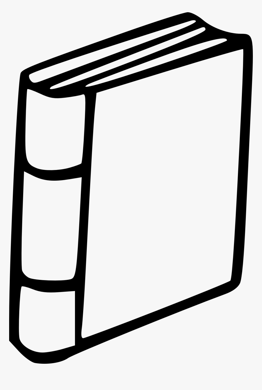 Closed Book Clipart Book Spine Clip Art Hd Png Download Kindpng
