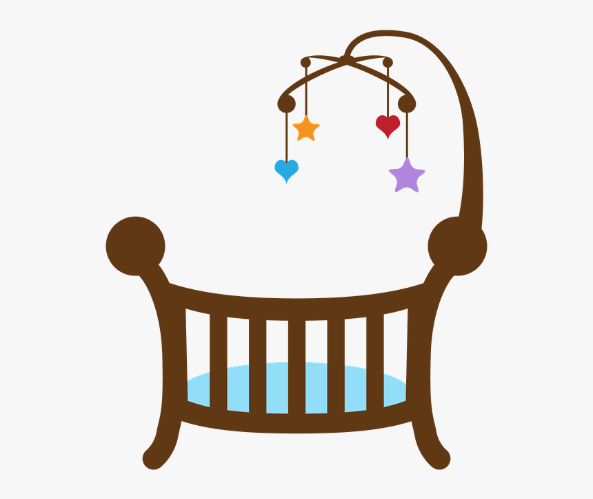ϧꭿϧy Clipart Baby Baby Clip Art Silhouette Clip Baby Shower Cradle Clipart Hd Png Download Kindpng