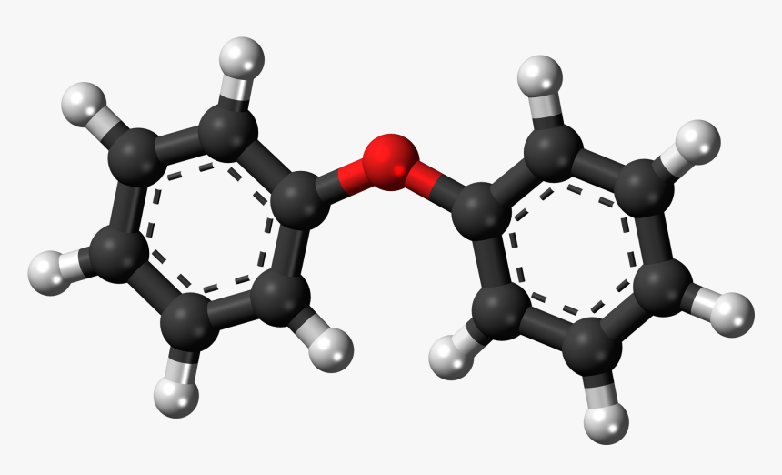 Diphenyl Ether 3d Ball, HD Png Download, Free Download