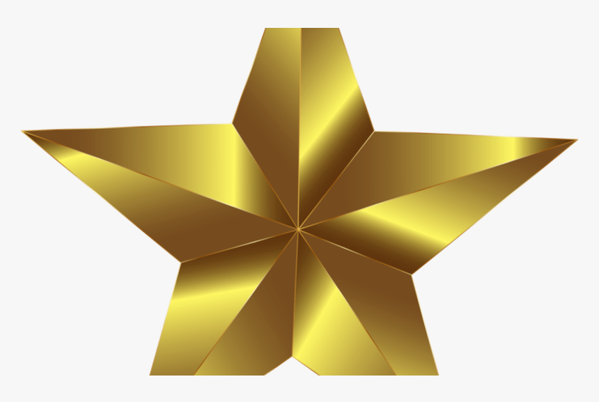 Christmas Graphics Star Computer Icons Gold Free Commercial, HD Png Download, Free Download