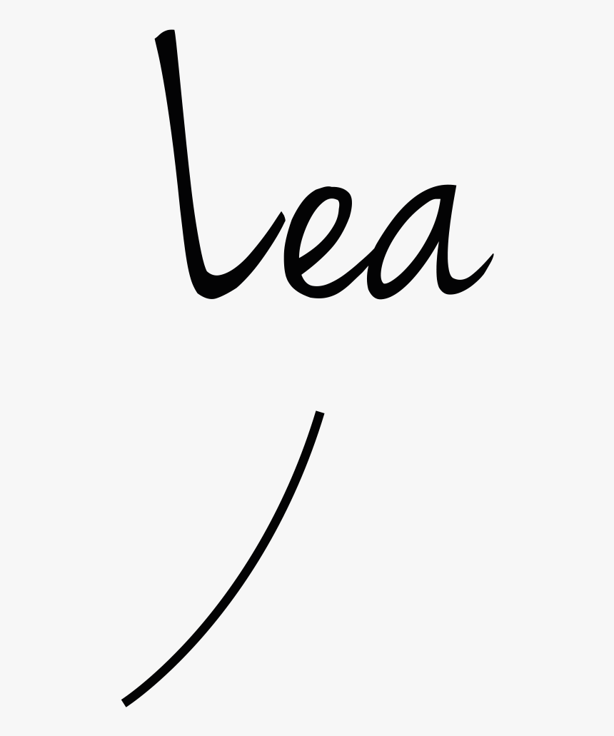 Ecriture Lea 1, HD Png Download, Free Download