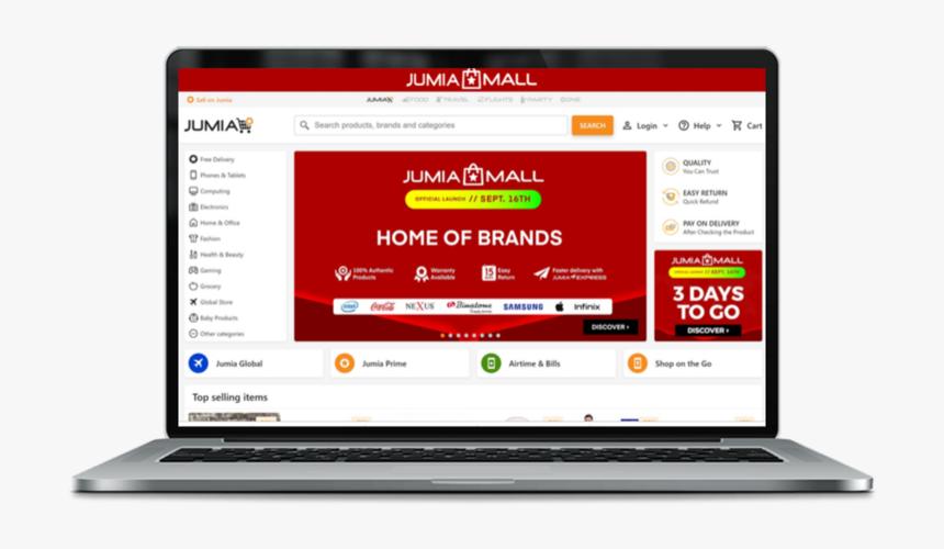 Jumia Mall Screen, HD Png Download, Free Download