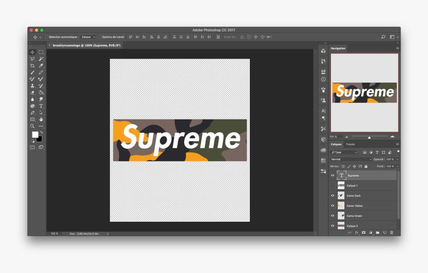 Supreme Box Logo Png, Transparent Png, Free Download
