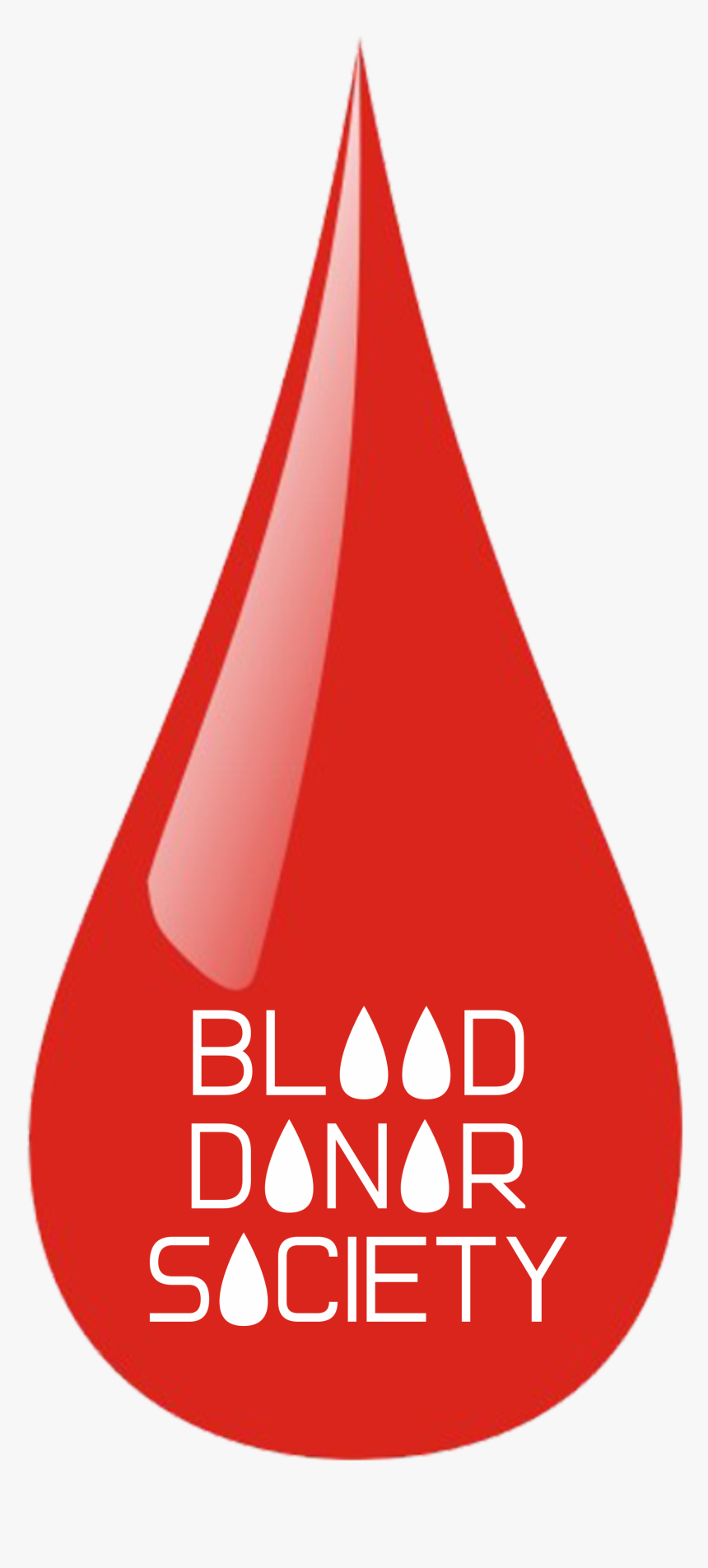 Blood Donor Society - Blood Donor Society Logo, HD Png Download, Free Download