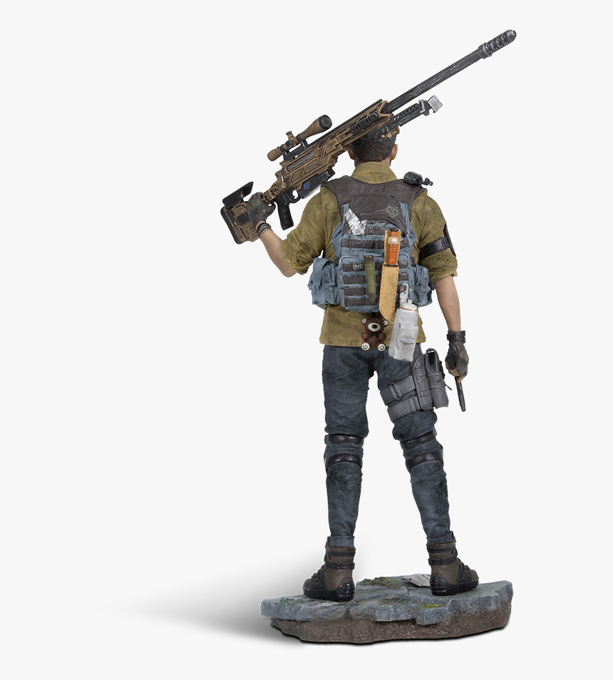 """Tom Clancy""""s The Division 2™ - Division 2 Brian Johnson Figurine, HD Png Download, Free Download"""