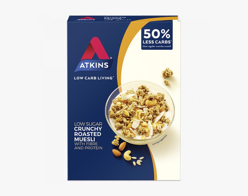 Crunchy Muesli - Atkins Low Carb Muesli, HD Png Download, Free Download