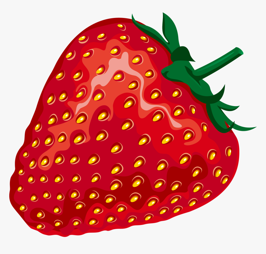 Transparent Strawberries Png - Red Strawberry Clip Art, Png Download, Free Download