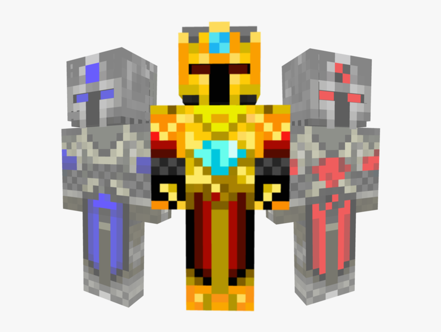 Transparent Minecraft Diamond Sword Png - Minecraft Knight Skins Girl, Png Download, Free Download
