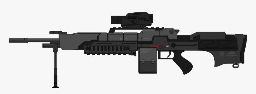 M73a2 Machine Gun Mod1 - Machine Gun Gif Transparent, HD Png Download, Free Download