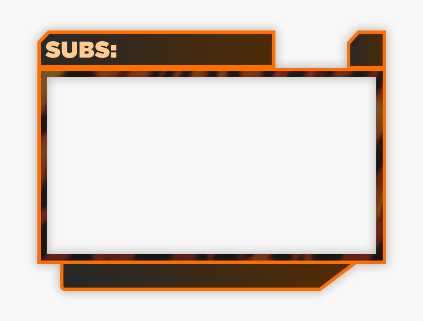 Twitch Cam Overlay Png, Transparent Png, Free Download