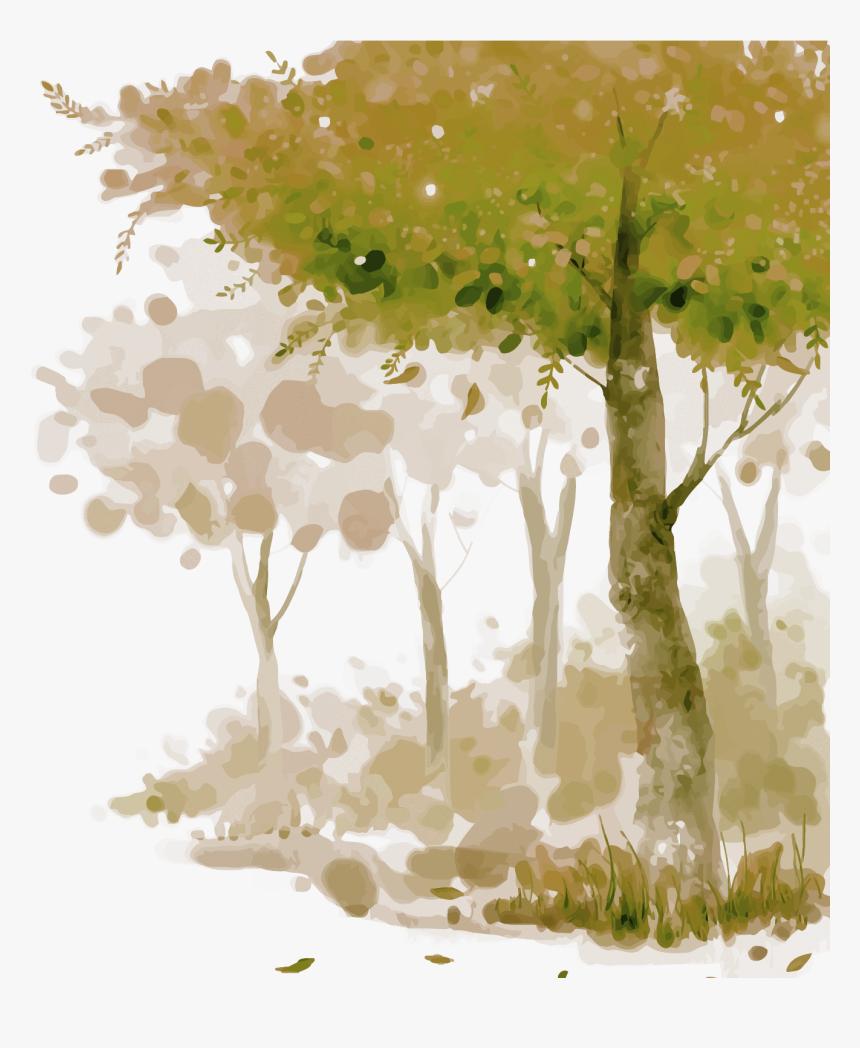 transparent watercolor texture png background forest watercolor png png download kindpng transparent watercolor texture png