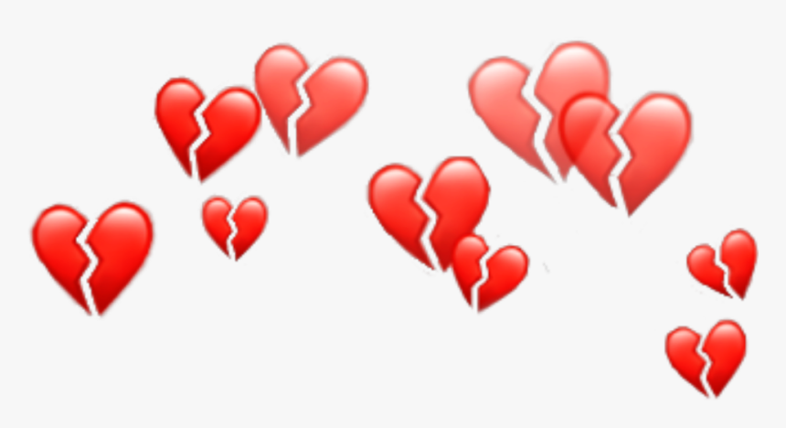 Heart Emoji Crown Png , Png Download - Snapchat Hearts Filter Png, Transparent Png, Free Download