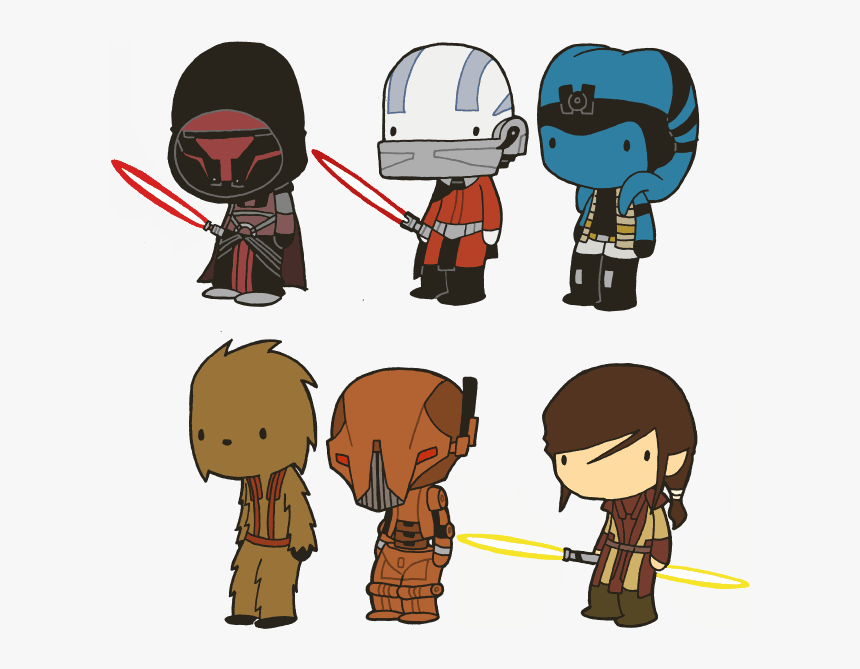 Lil Star Wars Characters , Png Download - Star Wars Characters Clip Art, Transparent Png, Free Download