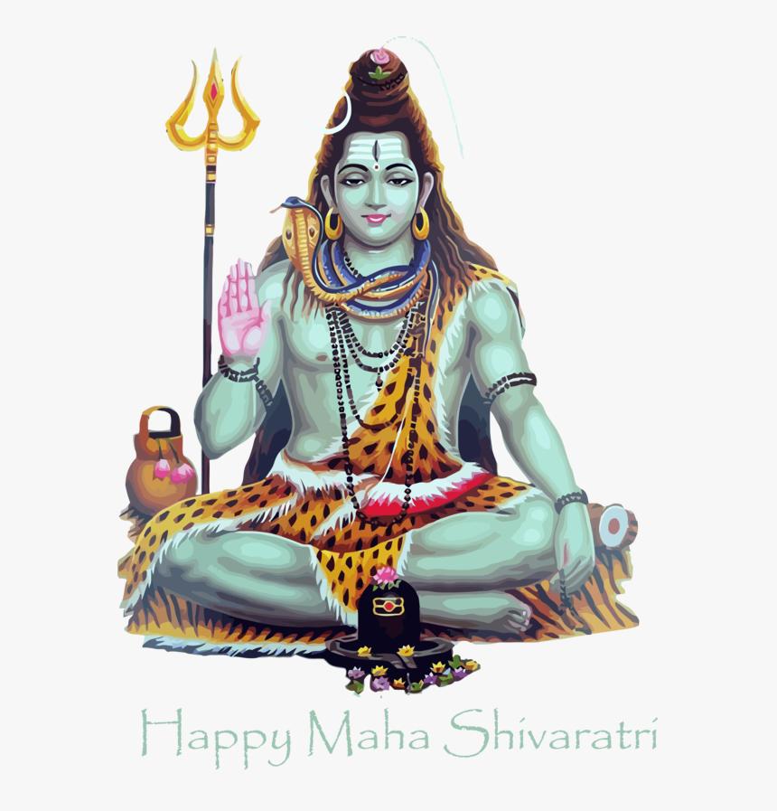 Transparent Maha Shivaratri Guru Place Of Worship Meditation - Transparent God Shiva Png, Png Download, Free Download