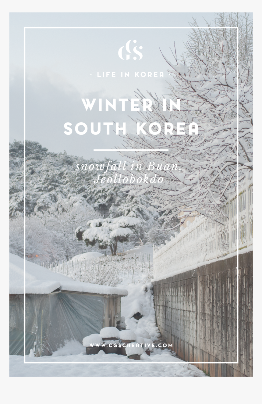 Snowflakes Falling Png Transparent , Png Download - Winter Korea City, Png Download, Free Download