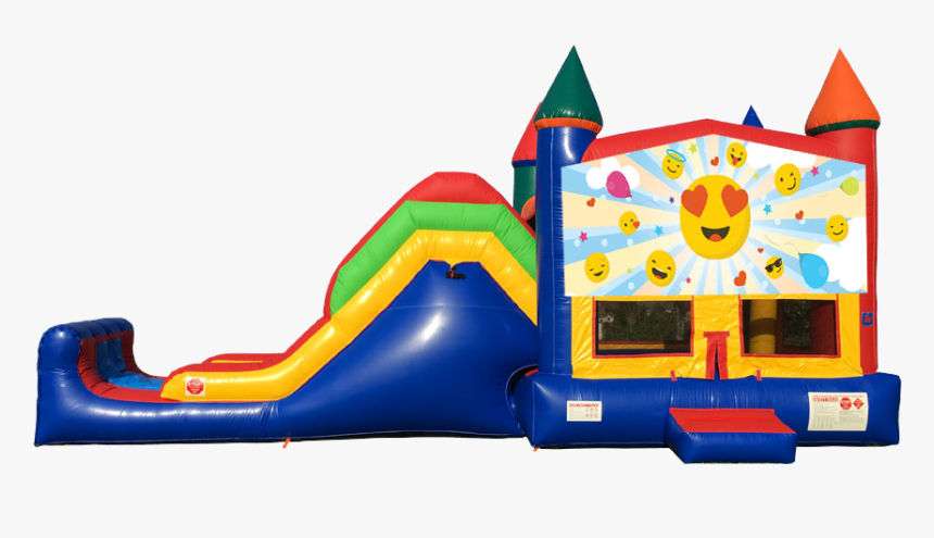 Emoji Super Combo 5 In 1 From Awesome Bounce Of Michigan - Baby Shark Bounce House, HD Png Download, Free Download