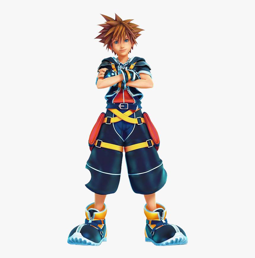 Thumb Image - Sora Kingdom Hearts 2 Hd, HD Png Download, Free Download