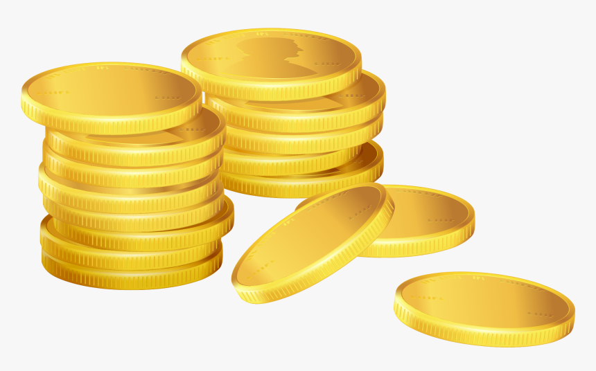 Stack Of Coins Png, Transparent Png, Free Download