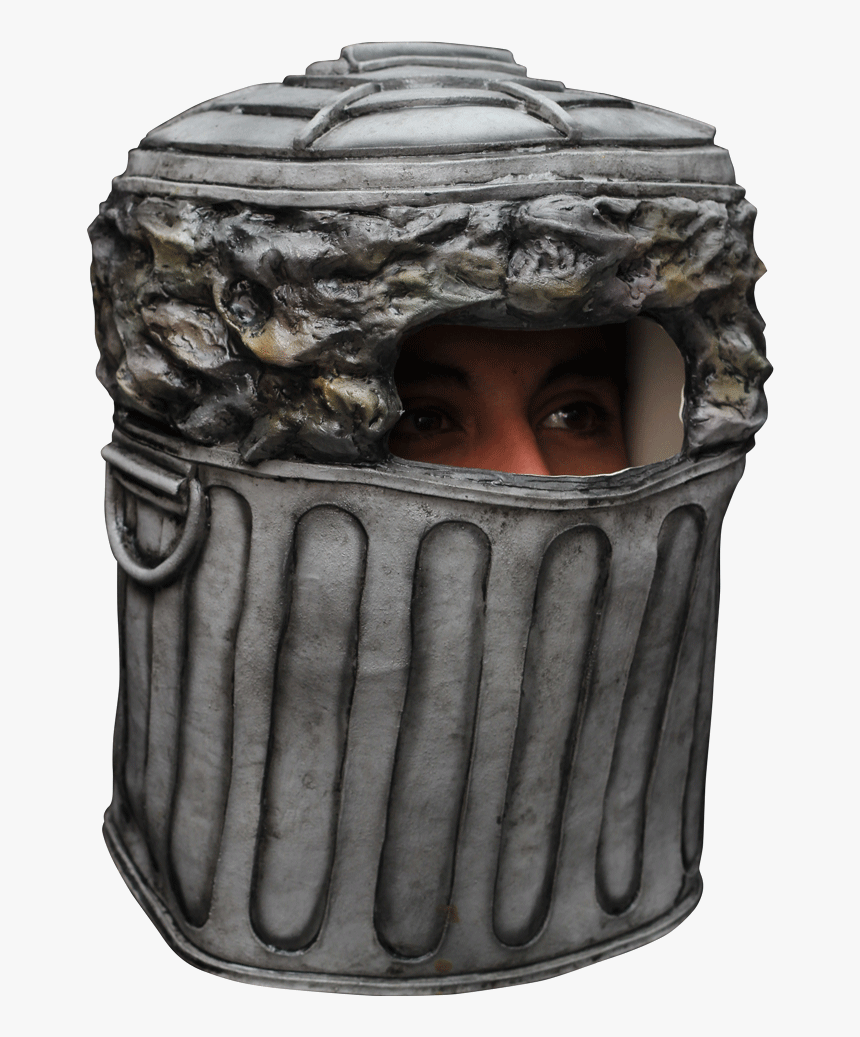 """Trash Can Mask""""  Class= - Waste Costume, HD Png Download, Free Download"""