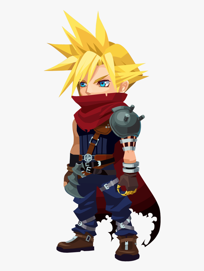 Cloud From Kingdom Hearts, HD Png Download, Free Download