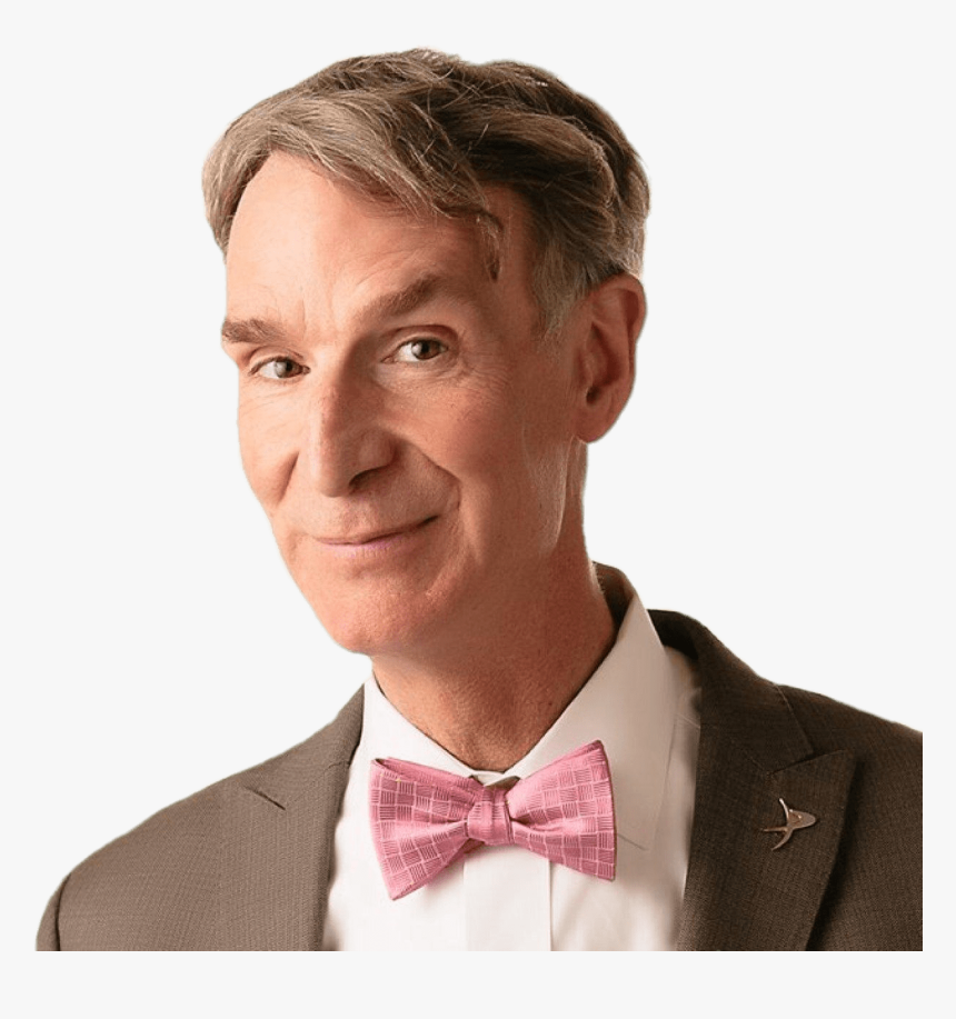 Bill Nye Pink Bow Tie - Bill Nye, HD Png Download, Free Download