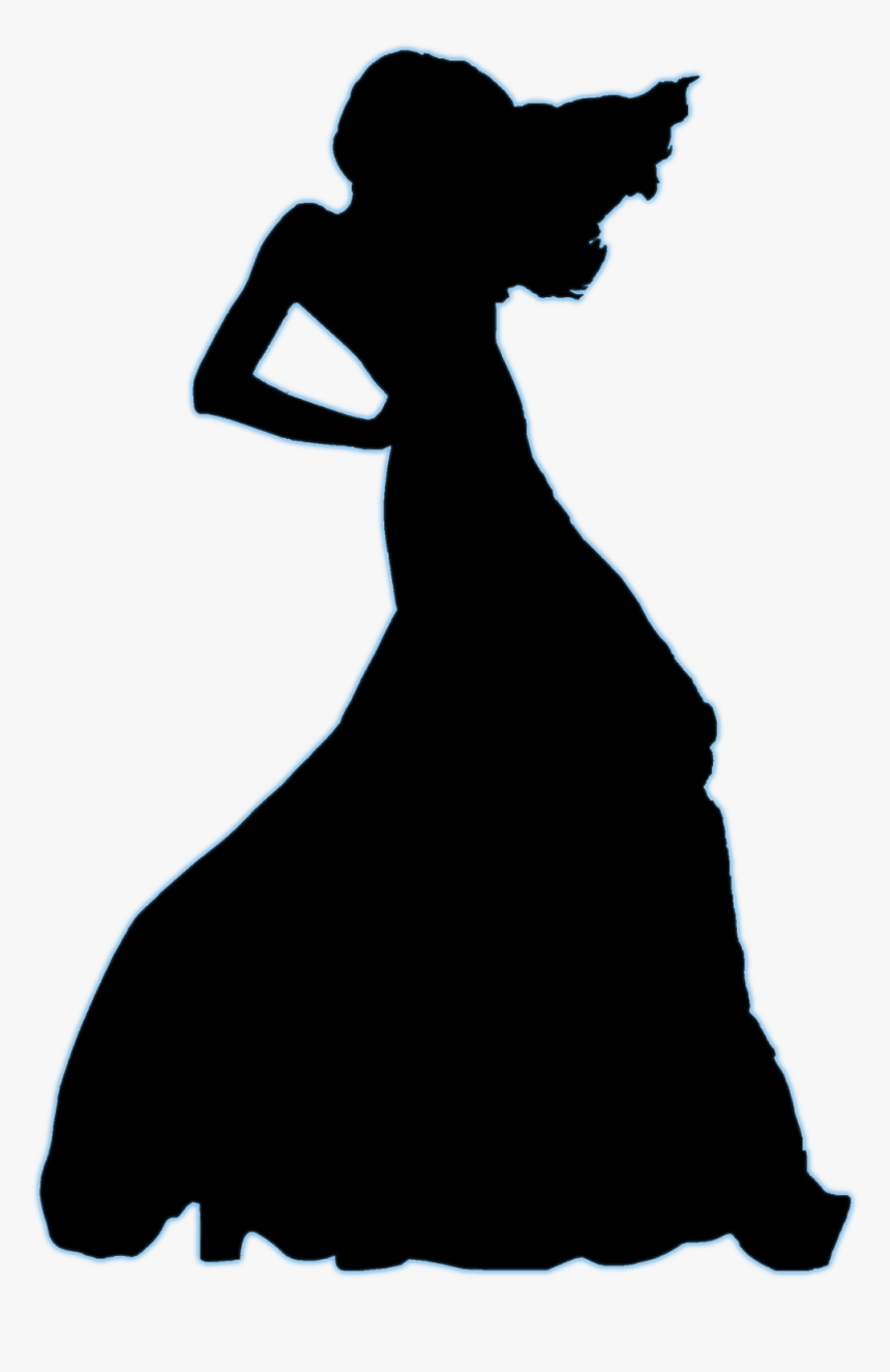 Male Clipart Fashion Model - Fashion Model Silhouette Dress, HD Png Download, Free Download