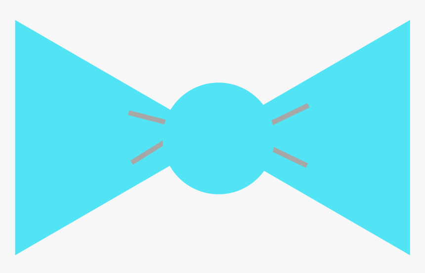 Bow Tie Baby Shower - Blue Bow Tie Baby Shower, HD Png Download, Free Download