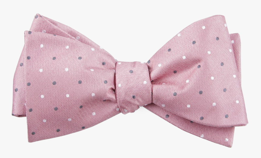 Pink Polka Dot Bow Tie, HD Png Download, Free Download