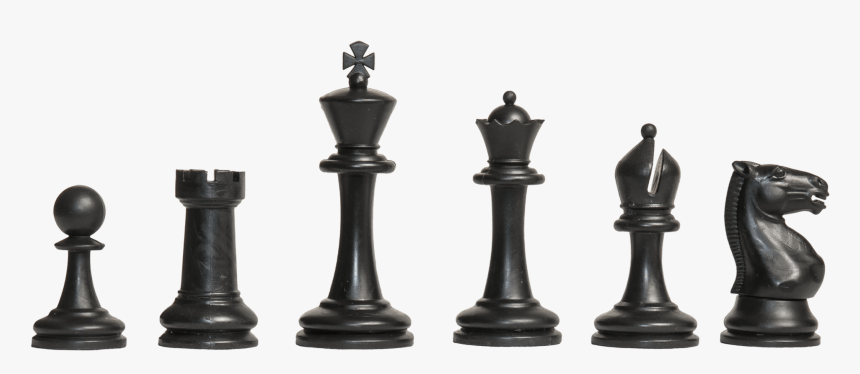 Chess Pieces Png - Chess Pieces Black And White, Transparent Png, Free Download