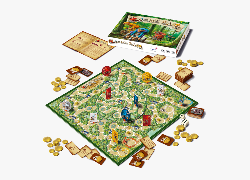 27 - Board Games With Gnomes, HD Png Download, Free Download