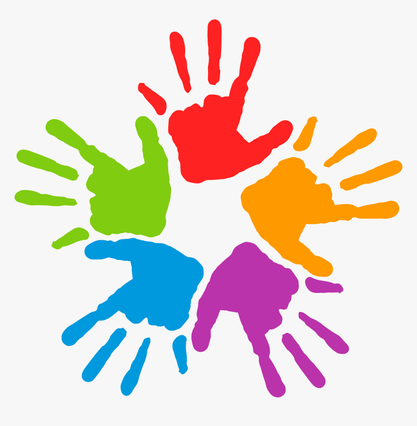 Common, Commune, Diversity, Hand, Hands, K, Mains, - Hands With Different Colors, HD Png Download, Free Download