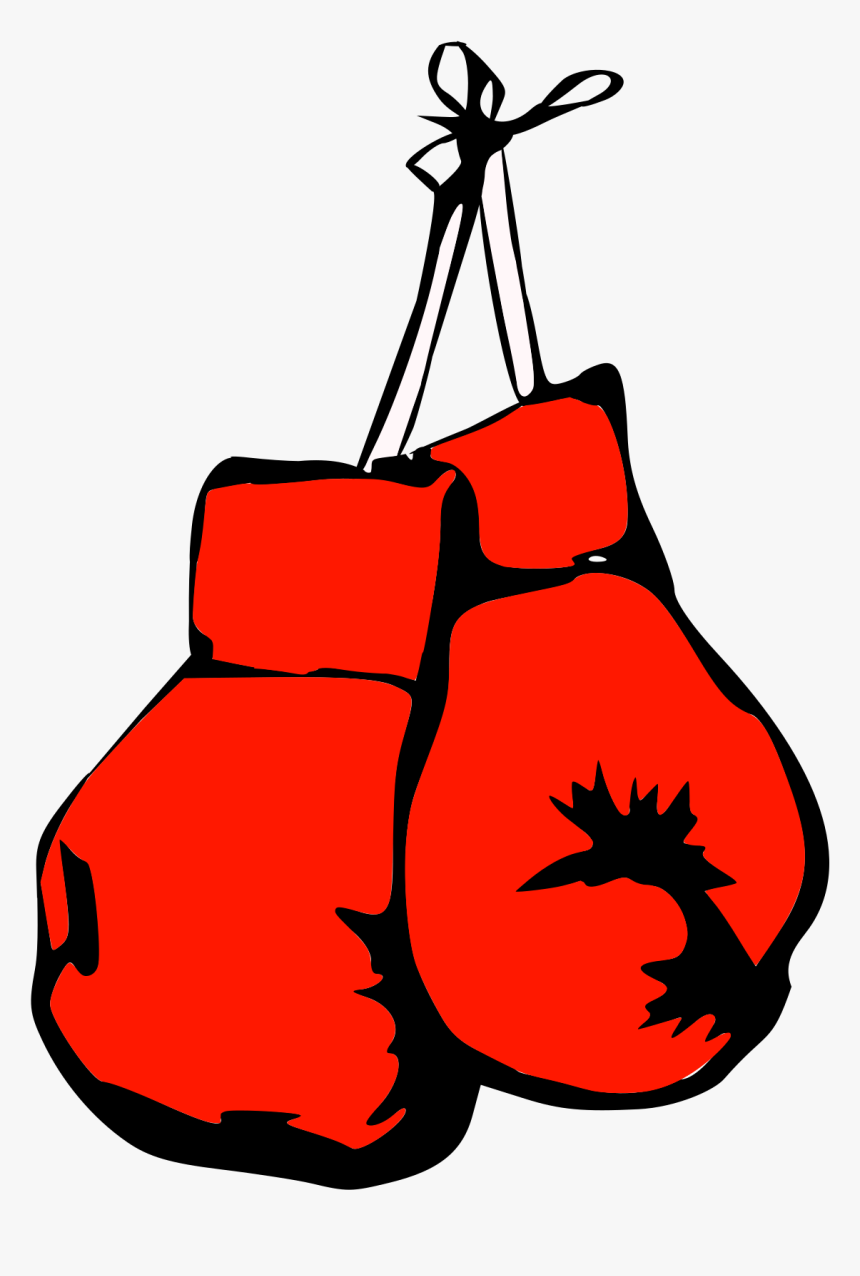 Boxing Gloves, Boxing, Fight, Fighting, Sports, Red - Boxing Gloves Art, HD Png Download, Free Download