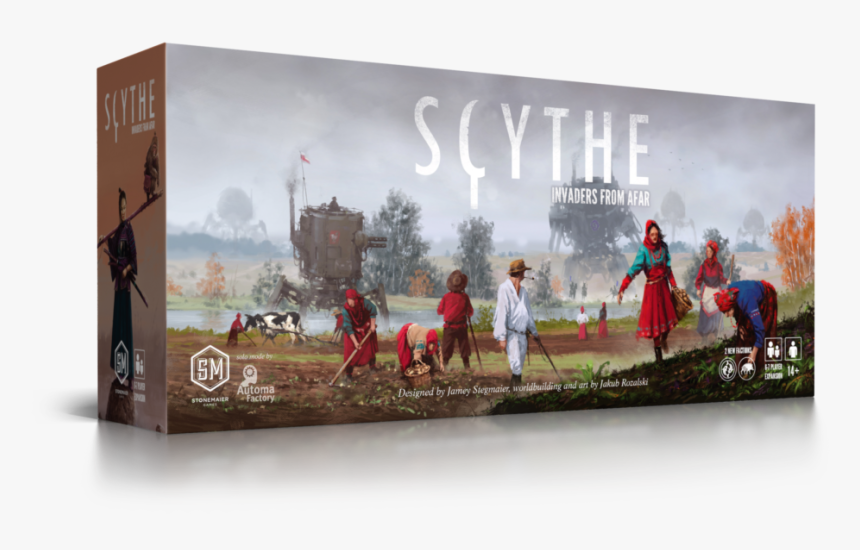 Scythe Invaders From Afar, HD Png Download, Free Download