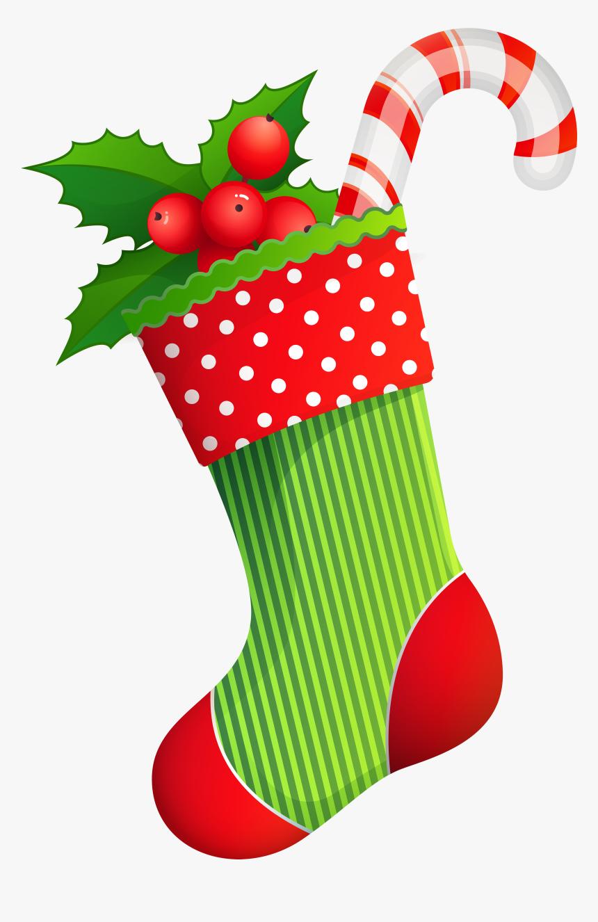 Holiday Transparent Clip Art - Clip Art Christmas Socks, HD Png Download, Free Download
