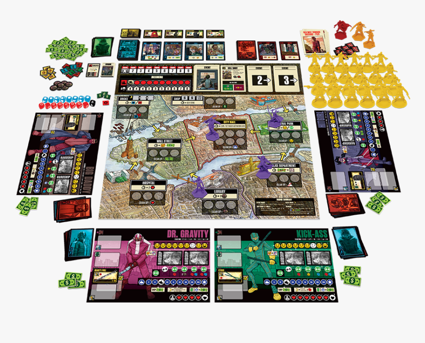 Kickass The Board Game, HD Png Download, Free Download