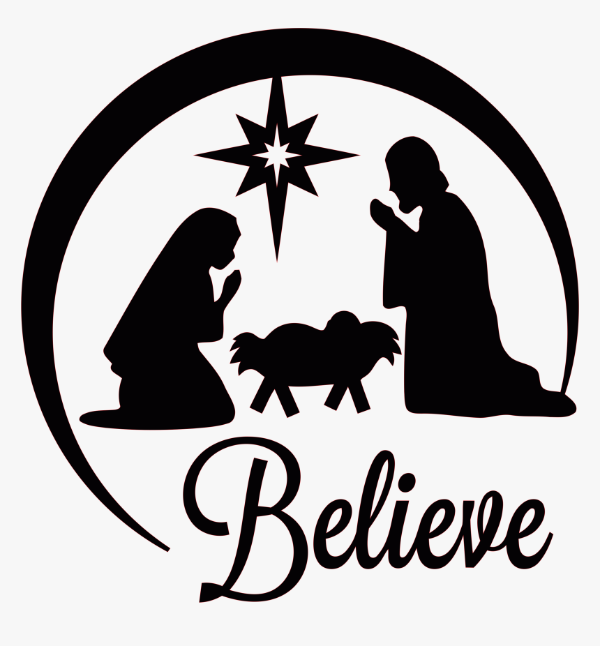 Manger Of Scene Jesus Nativity Church Christmas Clipart Nativity Scene Silhouette Hd Png Download Kindpng Outside the stable, a shepherd, magi, and angel surround the scene. manger of scene jesus nativity church