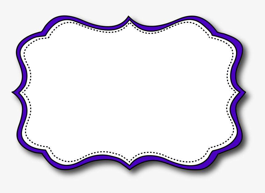 It is a photo of Printable Name Tag in clipart