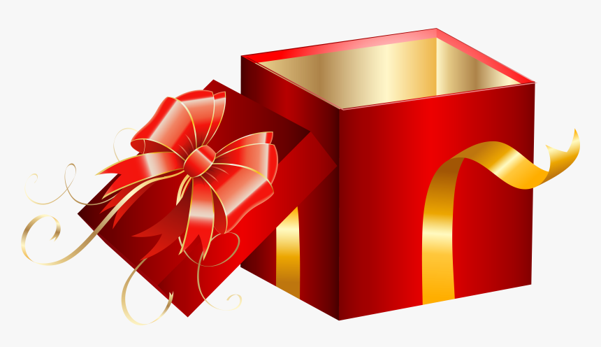 Transparent Christmas Present Png - Opened Gift Box Png, Png Download, Free Download