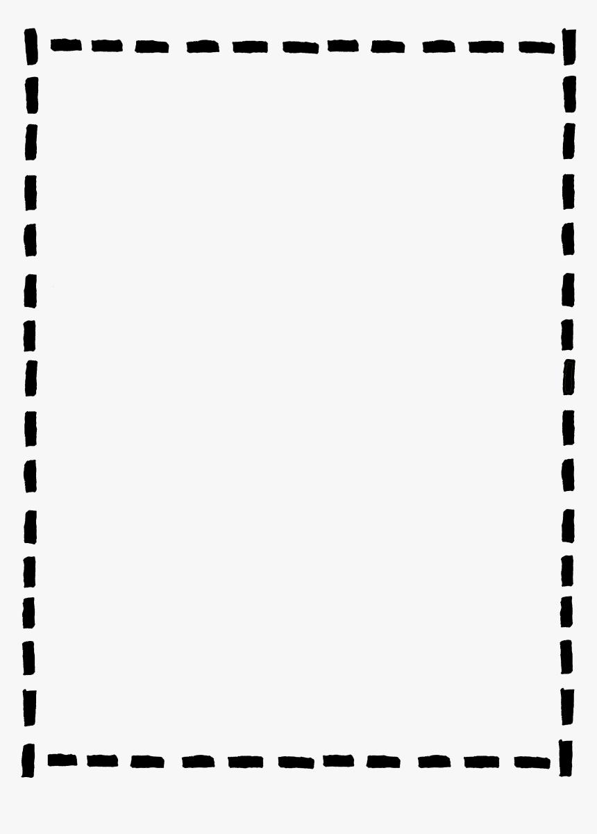 Cute Black And White Border Clipart Black Border Transparent Background Hd Png Download Kindpng