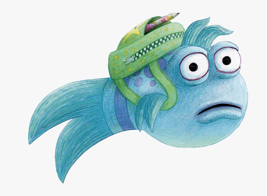Pout Pout Fish Goes To School, HD Png Download, Free Download