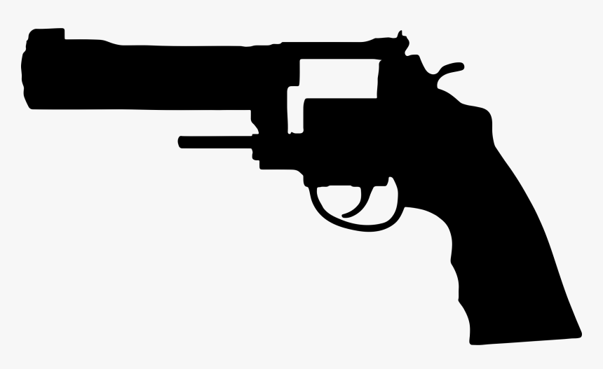 Viñetas, Arma De Fuego, Pistola, Revólver, Disparar - Smith & Wesson Vector, HD Png Download, Free Download